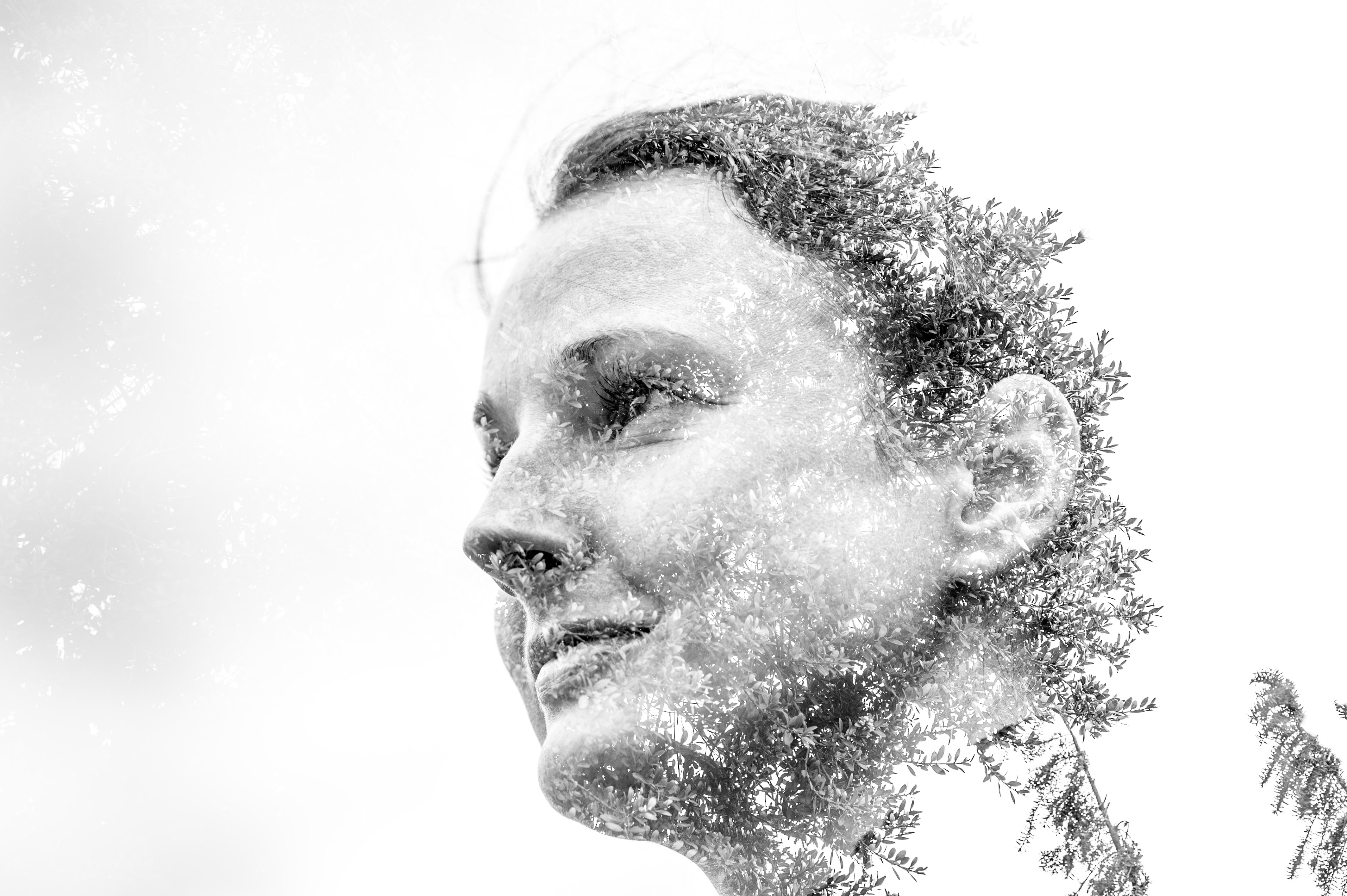 Double exposure of Agata