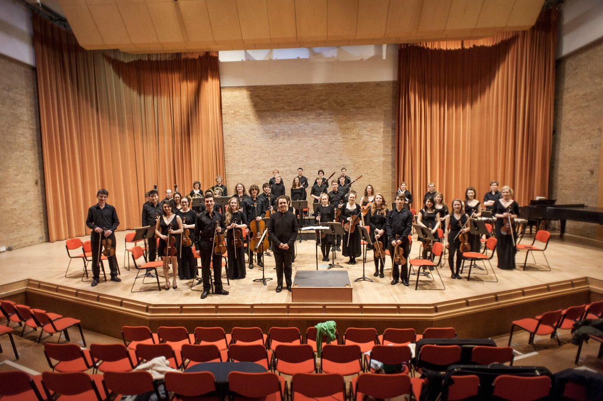 West Road Concert Hall, orchestra lineup