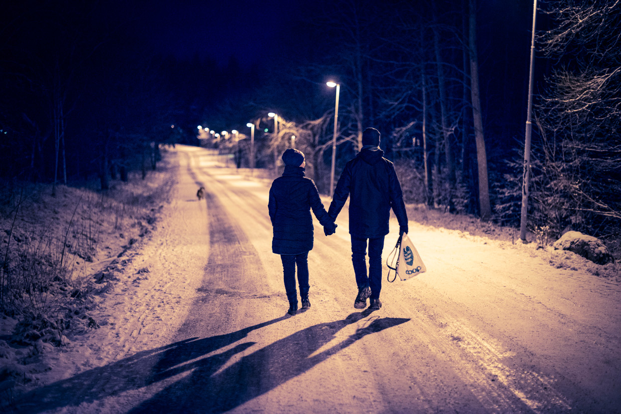 hjorthmedh-christmas-2014-evening-walk