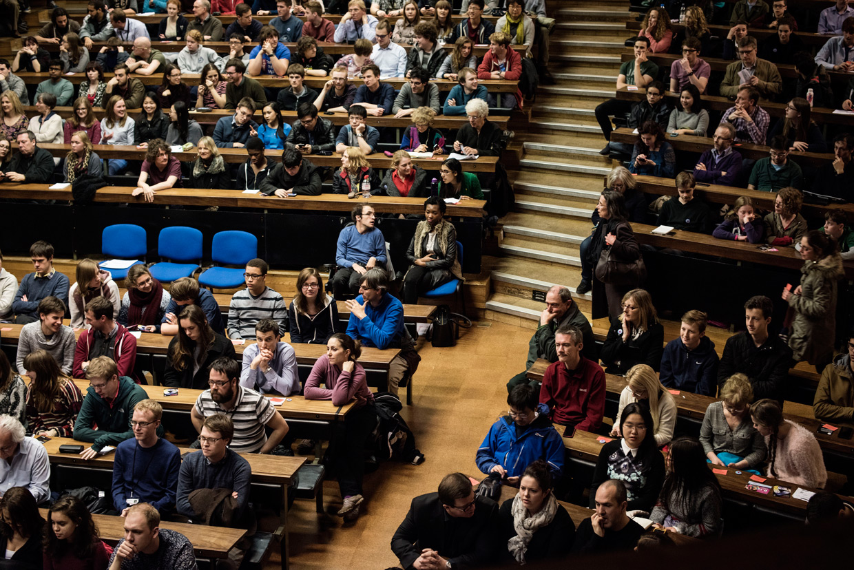 hjorthmedh-LMS150-lecture-crowd