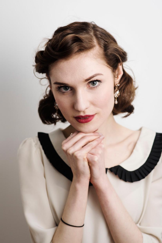 Flash portrait of Hannah Grace Taylor