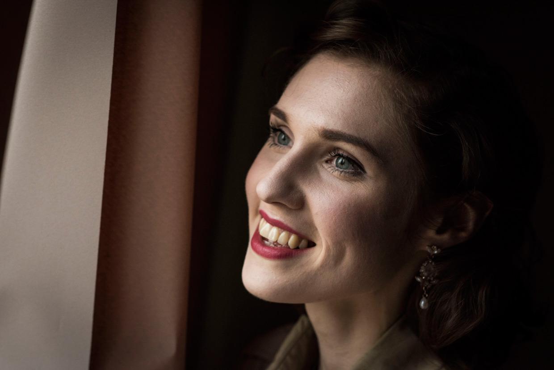 Hannah Taylor laughing
