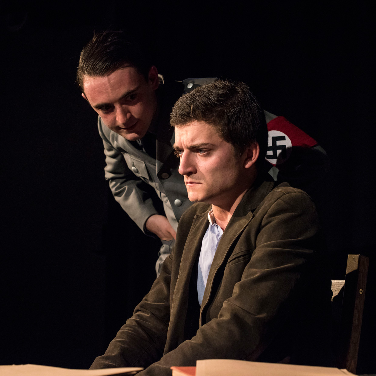 Will and Toby in the world war two play Himmelweg