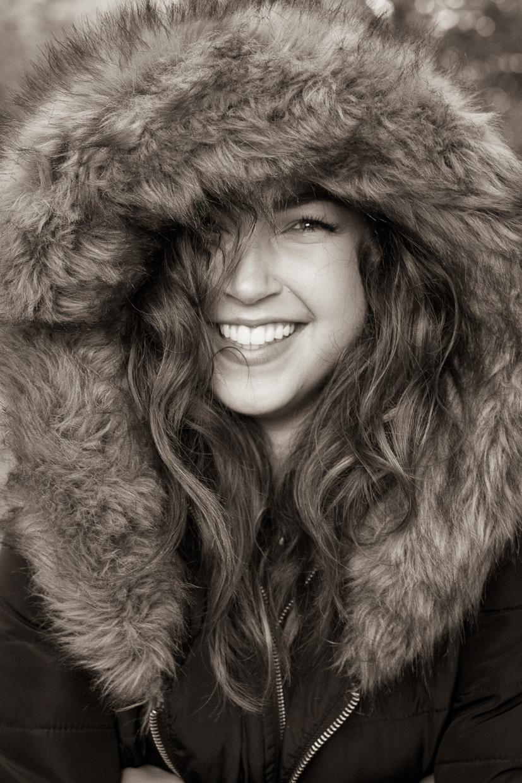 Portrait of Hannah Copeland.