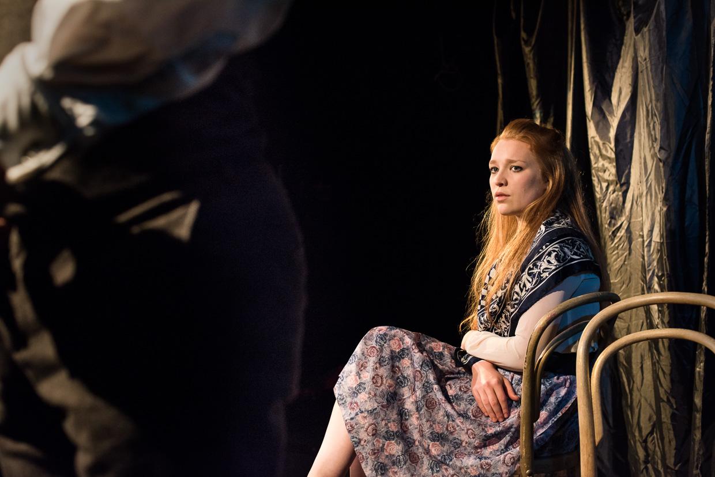 Eleanor Mack, playing an unsure wife