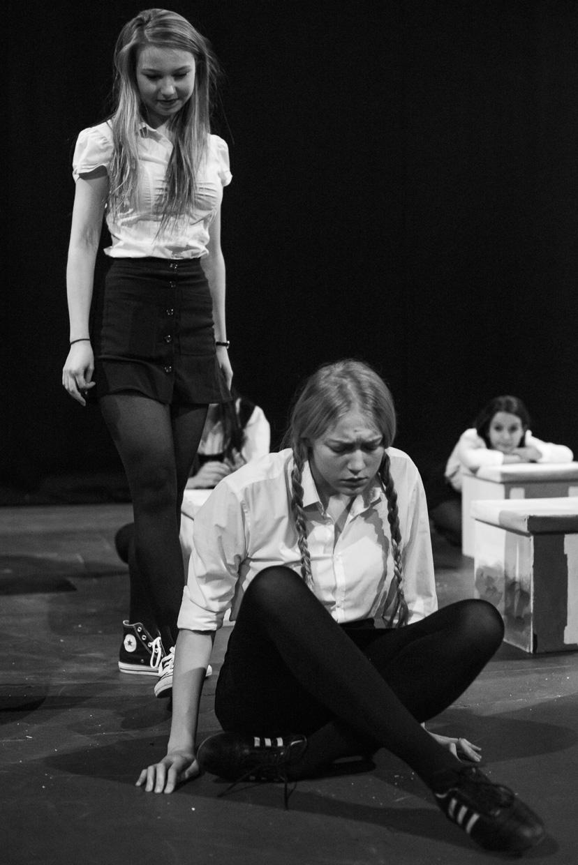 Isla Cowan and Mathilda Wickham