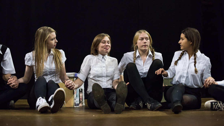Isla Cowan, Rebecca Vaa, Mathilda Wickham and Lizzie Reeves
