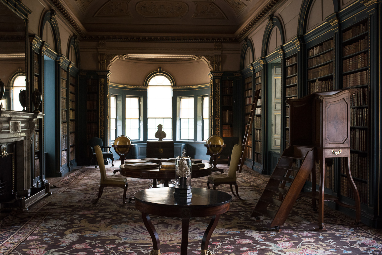 Wimpole Estate's old library