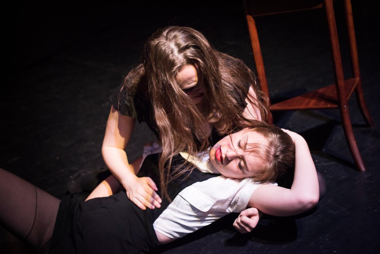 Rebecca dies in Julia's arms.