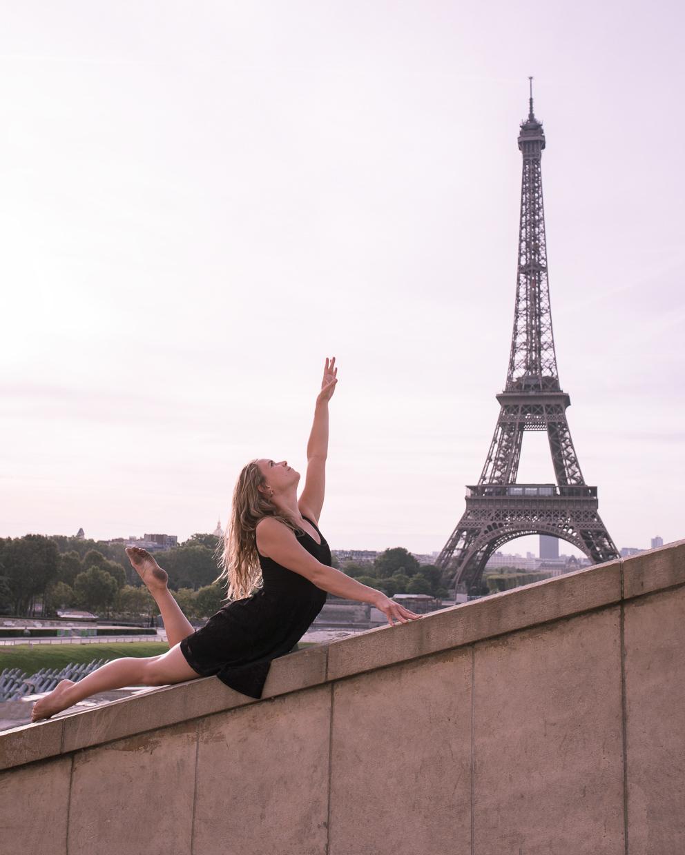 Lucy McMahon at Palais de Chaillot