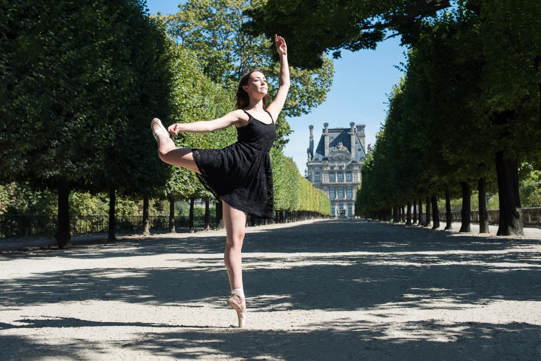 Annie Magee on point in Paris